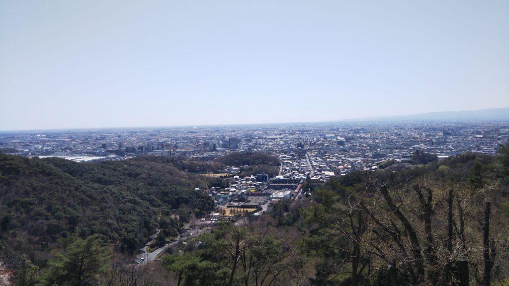 金山からの景色